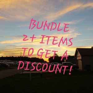 Other - BUNDLE TO GET A DISCOUNT!